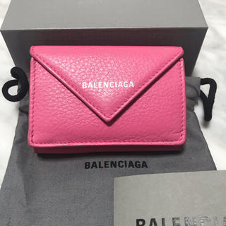 Balenciaga - 美品 バレンシアガ ペーパーミニウォレット ミニ財布
