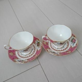 ロイヤルアルバート(ROYAL ALBERT)のロイヤルアルバートのコーヒーカップ(グラス/カップ)