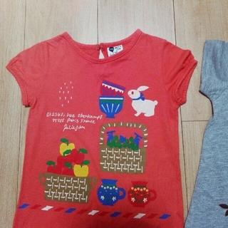 プチジャム(Petit jam)の子供Tシャツ 2枚セット 100&110サイズ(Tシャツ/カットソー)