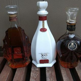 ニッカウイスキー(ニッカウヰスキー)の【ニッカブランデー古酒‼️】XOガラス瓶・XO陶器瓶・VSOP(ブランデー)