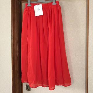 URBAN RESEARCH - ロングスカート プリーツスカート アーバンリサーチ ウエストギャザー ボイル