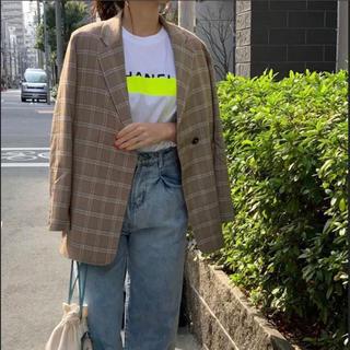 [美品]myine デザインジャケット(テーラードジャケット)