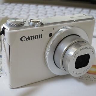 Canon - キヤノン PowerShot S110 美品!新品電池!