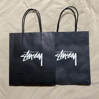 ステューシー(STUSSY)のストゥーシー ショッパー2枚セット(ショップ袋)