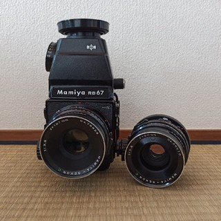 マミヤ(USTMamiya)のMamiya カメラ と レンズセット(フィルムカメラ)