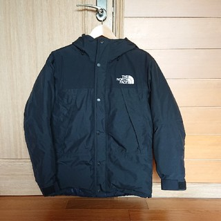 THE NORTH FACE - the north face mountain down jacket 黒