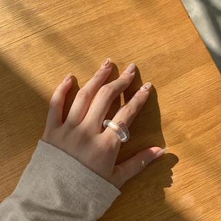 韓国♡クリア♡リング(リング(指輪))
