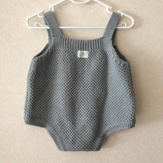 ロンパース (サロペット) 韓国子供服 monmimi キッズ/ベビー/マタニティのベビー服(~85cm)(ロンパース)の商品写真