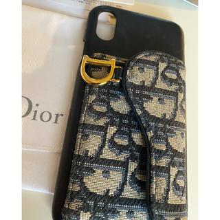 クリスチャンディオール(Christian Dior)のChristianDior クリスチャンディオール iPhone X ケース(iPhoneケース)