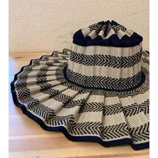 ドゥロワー(Drawer)のLorna Murray Capri Hat Kaimu L サイズ 新品(麦わら帽子/ストローハット)