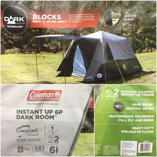 コールマン(Coleman)のColeman コールマンインスタントドームテント 6人用ワンタッチ組み立て(テント/タープ)