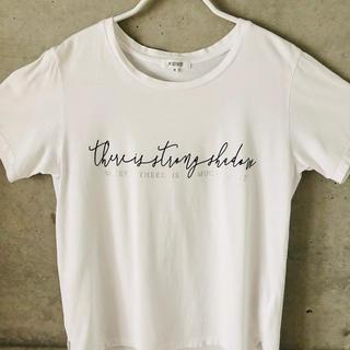 PLST - PLST ロゴTシャツ M コットン ホワイト 白
