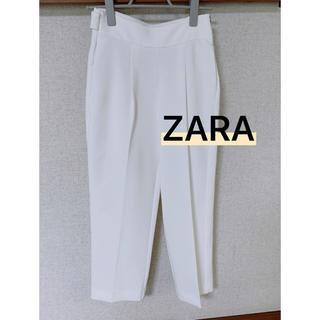 ZARA - ♡美品♡ZARA 白 タックパンツ xs