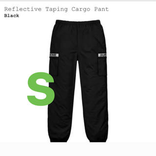Supreme - supreme reflective taping cargo pant 黒 S