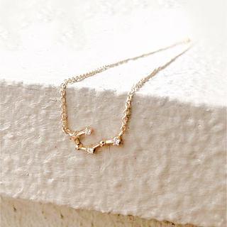 Ameri VINTAGE - 蟹座* cancer necklace 星座ネックレス