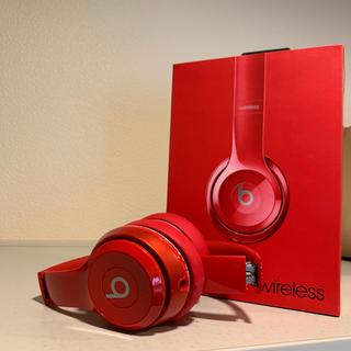 ビーツバイドクタードレ(Beats by Dr Dre)のBeats by Dr Dre SOLO2 WIRELESS RED(ヘッドフォン/イヤフォン)