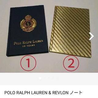 ポロラルフローレン(POLO RALPH LAUREN)のラルフローレン&レブロン  ノート(ノベルティグッズ)