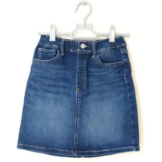 ユニクロ(UNIQLO)のユニクロ 子供服 女の子 140 デニムスカート(スカート)
