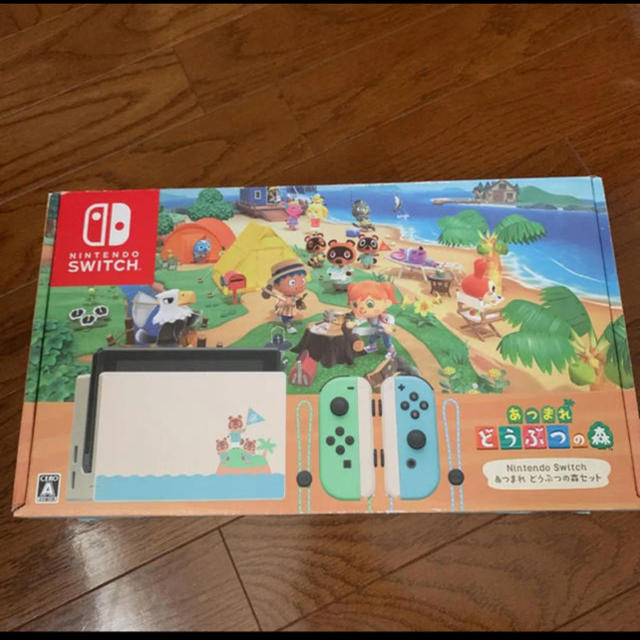 Nintendo Switch(ニンテンドースイッチ)のニンテンドースイッチ エンタメ/ホビーのゲームソフト/ゲーム機本体(家庭用ゲーム機本体)の商品写真