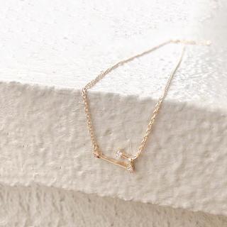 Ameri VINTAGE - 牡羊座* aries necklace 星座ネックレス