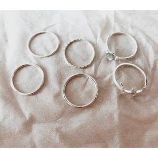エイチアンドエム(H&M)のリングセット(リング(指輪))