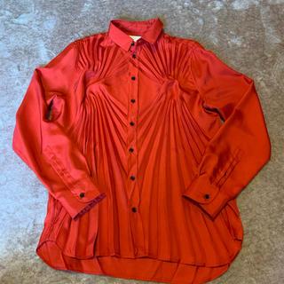 マルタンマルジェラ(Maison Martin Margiela)のMaison Margiela プリーツシャツ (シャツ/ブラウス(長袖/七分))