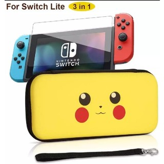 Nintendo Switch - Nintendo Switch lite ケース+保護フィルム ピカチュウ柄