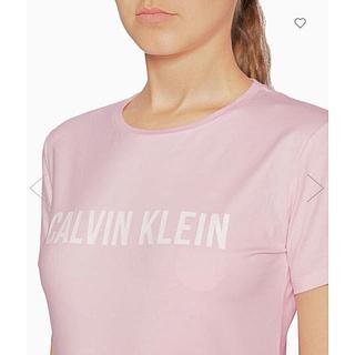 カルバンクライン(Calvin Klein)の【Calvin Klein】LOGO SHORT SLEEVE TEE pink(Tシャツ(半袖/袖なし))