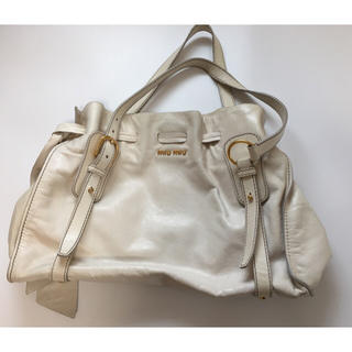 ミュウミュウ(miumiu)のMIU MIU バッグ  &ファスナー付き長財布おまけ付き(トートバッグ)