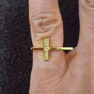エテ(ete)の 値下げete k18ダイアモンドピンキーリング(リング(指輪))