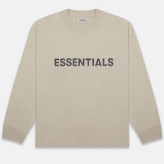 FEAR OF GOD - Essentials Tan Long Sleeve T-Shirt XS