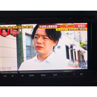 パナソニック(Panasonic)のパナソニック ナビゲーション CN-RE03D 動作確認済み フルセグ(カーナビ/カーテレビ)