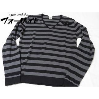 ディーゼル(DIESEL)のD80 美品 DIESEL ディーゼル ◆ サイズS ダメージ加工(ニット/セーター)