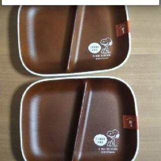 SNOOPY - スヌーピー ランチプレート(検 お皿 手づすかみ食べ  皿 食器 コレール お箸