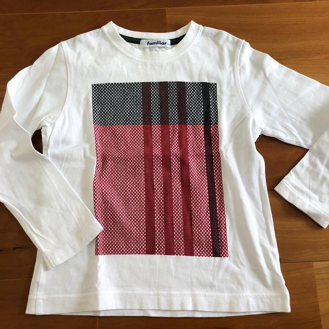 familiar(ファミリア)のfamiliar 長袖 120センチ キッズ/ベビー/マタニティのキッズ服男の子用(90cm~)(Tシャツ/カットソー)の商品写真