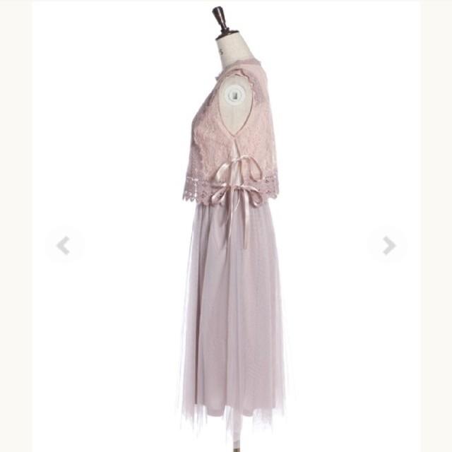 axes femme(アクシーズファム)の【新品未開封】axes femme ロングワンピースドレス 結婚式 ゆめかわいい レディースのワンピース(ロングワンピース/マキシワンピース)の商品写真
