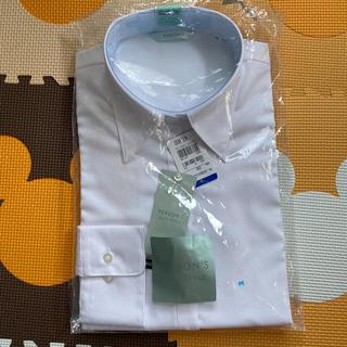 パーソンズ(PERSON'S)の新品 レディース ブラウス 9号 M 白 PERSON'S スーツ カッター(シャツ/ブラウス(長袖/七分))