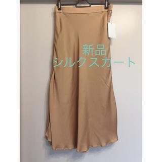 ガリャルダガランテ(GALLARDA GALANTE)の新品 ガリャルダガランテ 購入 シルク ロングスカート (ロングスカート)
