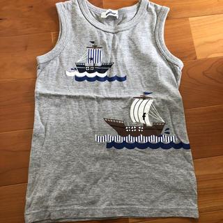 ファミリア(familiar)のfamiliar タンクトップ 120センチ(Tシャツ/カットソー)