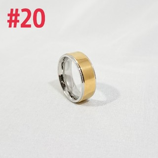 平打ちゴールド リング#20(リング(指輪))