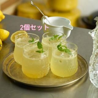 イッタラ(iittala)のフルッタ レモン 2個セット 新品·未使用 イッタラ イエロー(グラス/カップ)