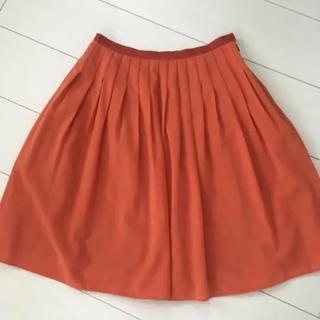 ロペ(ROPE)のロペ ROPE フレア スカート (ひざ丈スカート)