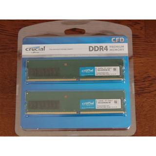 Crucial デスクトップ用メモリ 8GB2枚セット W4U2666CM-8G