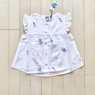 Caramel baby&child  - 新品✦1点のみ BONTON 刺繍ブラウス(4Y)