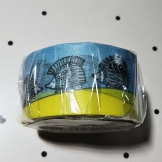 リサラーソン(Lisa Larson)の7/6お値下げ☆マスキングテープ  リサラーソン 「出会いのハリネズミ」(新品)(テープ/マスキングテープ)