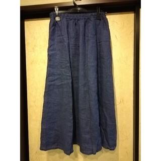 ムジルシリョウヒン(MUJI (無印良品))のロングスカート(ロングスカート)