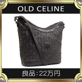 celine - 【真贋査定済・送料無料】オールドセリーヌのショルダーバッグ・良品・本物・希少