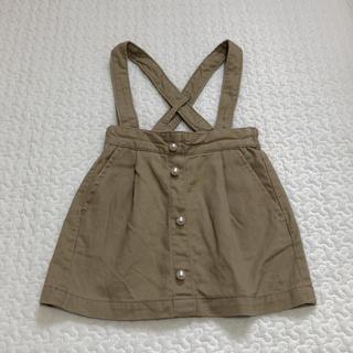 プティマイン(petit main)のプティマイン  サスペンダースカート 80cm(スカート)