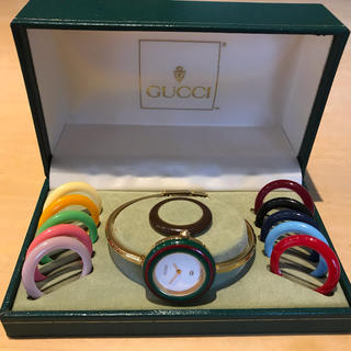 Gucci - 正規品 GUCCI グッチ チェンジ ベゼル 腕時計