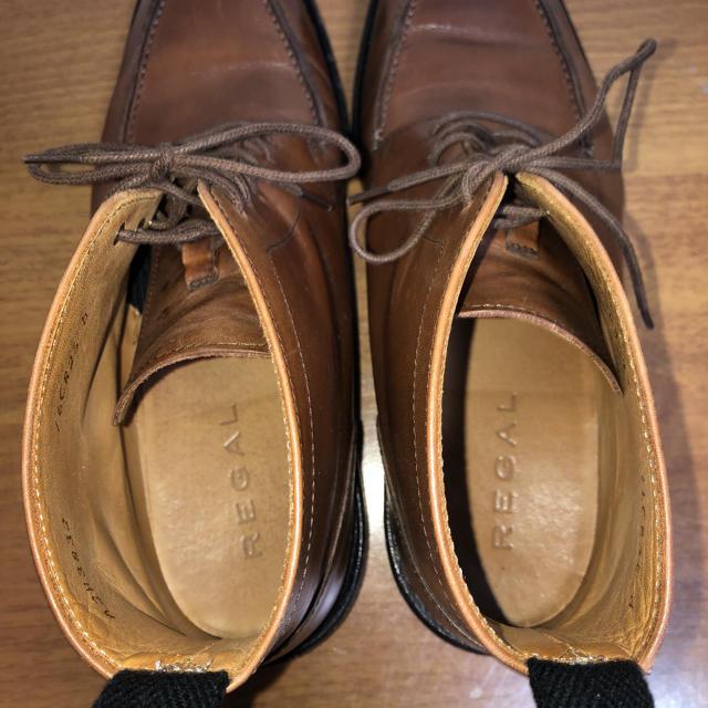 REGAL(リーガル)のリーガル REGAL ブーツ 革靴 25cm メンズの靴/シューズ(ドレス/ビジネス)の商品写真